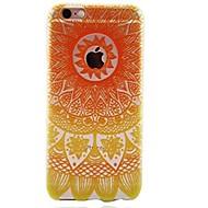 Назначение iPhone 7 iPhone 7 Plus Чехлы панели Ультратонкий Прозрачный С узором Задняя крышка Кейс для Мандала Мягкий Термопластик для
