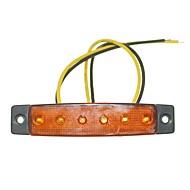 Недорогие Внешние огни для авто-SENCART Грузовик / Мотоцикл / Автомобиль Лампы 1.5W SMD LED 120lm 6 Внешние осветительные приборы For Универсальный Все года