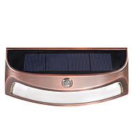 Недорогие Интеллектуальные огни-ds-3688 солнечный наружный водонепроницаемый светодиодный настенный светильник