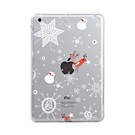 cheap iPad Accessories-Case For Apple iPad Mini 4 iPad Mini 3/2/1 iPad 4/3/2 iPad Air 2 iPad Air iPad 10.5 iPad Pro 12.9'' iPad (2017) Transparent Pattern Back