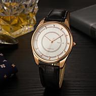 Недорогие Фирменные часы-YAZOLE Муж. Наручные часы Горячая распродажа / Cool PU Группа Роскошь / На каждый день / Мода Черный / Коричневый