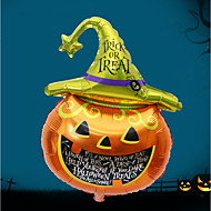 alameda de la barra de halloween adornada con los globos de aluminio