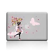 """halpa MacBook-kotelot & MacBook laukut & MacBook suojat-MacBook Kotelo varten Läpinäkyvä Sexy Lady PVC Uusi MacBook Pro 15"""" Uusi MacBook Pro 13"""" MacBook Pro 15-tuumainen MacBook Air"""