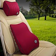 cheap Car Headrests&Waist Cushions-Automotive Headrest & Waist Cushion Kits For universal All years All Models Car Waist Cushions Metal Polyester