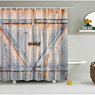 お買い得  浴室用小物-シャワーカーテン&フック ポリエステル スカル 手作り