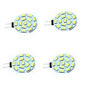 1W G4 LED Bi-Pin lamput T 15 ledit SMD 5730 Koristeltu Lämmin valkoinen Kylmä valkoinen 200lm 3000-7000