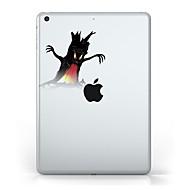 Für iPad (2017) Hüllen Cover Transparent Muster Rückseitenabdeckung Hülle Durchsichtig Halloween Weich TPU für Apple IPad pro 10.5 iPad