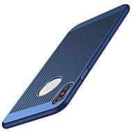 Недорогие Кейсы для iPhone 8-Кейс для Назначение Apple iPhone X iPhone X iPhone 8 iPhone 8 Plus Ультратонкий Матовое Кейс на заднюю панель Сплошной цвет Твердый ПК для