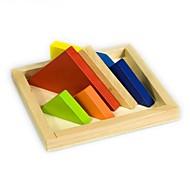 お買い得  ホリデー用品-タングラム ブロックおもちゃ ジグソーパズル ウッドパズル 知育玩具 おもちゃ 長方形 DIY 子供用 男の子用 女の子用 小品