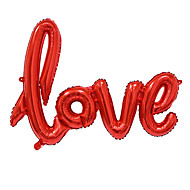 cheap Party Decoration-Big Size Love Letters Foil Balloon Romantic Mylar Lovely Balloons