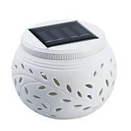 Недорогие Интеллектуальные огни-psm01 красочные полые керамические солнечные фонари