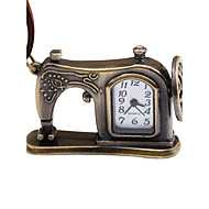 abordables Relojes Mecánicos-Hombre Mujer Reloj de Bolsillo Chino Cuerda Manual Gran venta Piel Banda Vintage Creativo Marrón