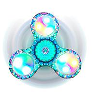 Fidget spinner -stressilelu hand Spinner Lelut Tri-Spinner Muovi EDCFocus Toy Lievittää ADD, ADHD, ahdistuneisuus, Autism Stressiä ja