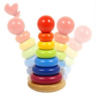 お買い得  ホリデー用品-ブロックおもちゃ 数学のおもちゃ 知育玩具 おもちゃ 長方形 タワー・塔 DIY 子供用 男の子用 女の子用 小品