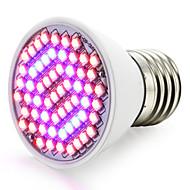 billige Vækstlamper-1500-1800lm E27 Voksende lyspære 60 LED Perler SMD 3528 Blå Rød 85-265V