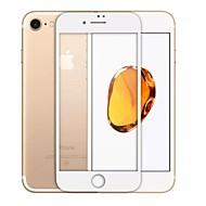 強化ガラス スクリーンプロテクター のために Apple iPhone 8 フルボディプロテクター 硬度9H 2.5Dラウンドカットエッジ 防爆 傷防止 指紋防止