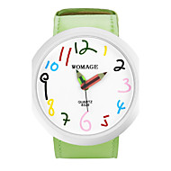 cheap Watch Deals-Women's Cute Big Dial Pencil Pointer Design Strap Watch PU Band Quartz Wrist Watch (Assorted Colors) Cool Watches Unique Watches