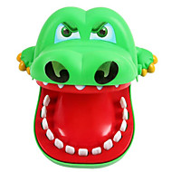 cheap Toys & Hobbies-Toys Crocodile Dentist Toys Biting Hand Large Size Fish Crocodile Plastics Pieces Not Specified Kids Adults' Gift