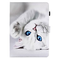 For Case Cover Card Holder Wallet with Stand Flip Pattern Full Body Case Cat Hard PU Leather for Apple iPad pro 10.5 iPad (2017) iPad Pro