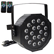 cheap LED Stage Lights-U'King 30 W LED Par Lights Sound-Activated RGB 110-240 V 18 LED Beads / 1 pc / RoHS / CE Certified / FCC