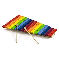cheap Toys & Hobbies-Xylophone Building Blocks Educational Toy Toys Drum kit Musical Instruments DIY Fun Wooden Kids' Kids Boys Girls Pieces