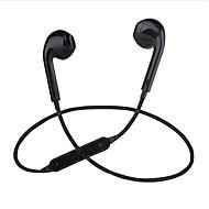 baratos Acessórios Para PC & Tablet-S6 No ouvido Com Fio Fones Eletroestático Plástico Esporte e Fitness Fone de ouvido Com Microfone Fone de ouvido