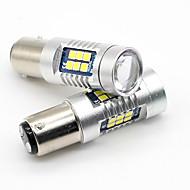 Недорогие Задние фонари-SO.K 2pcs 1157 Грузовик / Автомобиль Лампы 7 W SMD 3030 800 lm Задний свет
