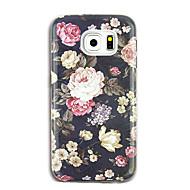 voor case cover patroon achterkant hoesje bloem zachte tpu voor Samsung Galaxy S8 plus s8 s7 rand s7 s6 rand plus s6 rand s6 s6 actieve s5