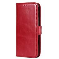 Кейс для Назначение SSamsung Galaxy S8 Plus S8 Кошелек Бумажник для карт со стендом Флип Магнитный Чехол Сплошной цвет Твердый