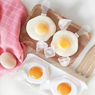 2-kennoinen muovinen muna-muotoinen jäätelö muotileipäpakastin valmistaja jäädytetty lolly-muotin jääpalakotelo