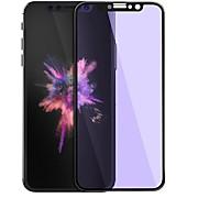 Näytönsuojat varten Apple iPhone X Karkaistu lasi 1 kpl 9H kovuus 2,5D pyöristetty kulma Naarmunkestävä Anti-Glare