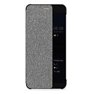 Θήκη Za Huawei P10 Zaokret Auto Sleep / Wake Up Kućište Jedna barva Tvrdo PC za Huawei P10