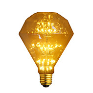 cheap LED Filament Bulbs-1pc 3W 300lm E26 / E27 LED Filament Bulbs G95 47 LED Beads COB Starry Decorative Warm White 220-240V