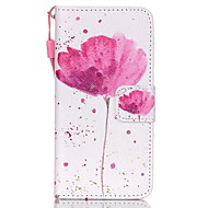 cheap iPod Cases/Covers-Case For iTouch 5/6 Wallet Card Holder with Stand Flip Pattern Full Body Cases PU Leather Hard