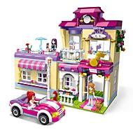 Bouwblokken Speeltjes Huis Opleidingscentrum Superster DHZ Klassiek Nieuw Design Volwassenen Meisjes 729 Stuks