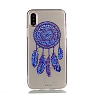 для чехлов крышка прозрачный шаблон задняя крышка чехол мечта ловец мягкий tpu для яблока iphone x iphone 8 плюс iphone 8 iphone 7 plus