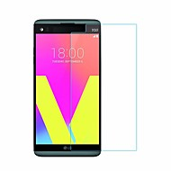 Screen Protector for LG LG V20 Tempered Glass 1 pc Front Screen Protector High Definition (HD) 9H Hardness 2.5D Curved edge Scratch Proof