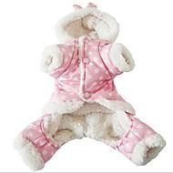 Kat Hond Jassen Hoodies Verkleed & Fashion Koudbestendige kleding Kerstmis Hondenkleding Casual/Dagelijks Opwarm Kleding Vrije tijd