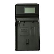 ismartdigi el15 lcd לטלפון נייד USB סוללה מטען עבור ניקון en-el15 d7000 d7100 d7100 d750 d750 d610 d800 d810- שחור