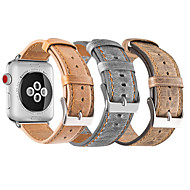 cheap Apple Accessories-Watch Band for Apple Watch Series 3 / 2 / 1 Apple Sport Band Genuine Leather Wrist Strap
