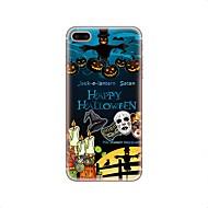для крышки случая прозрачный тип задняя крышка случая halloween мягкая tpu для яблока iphone x iphone 8 плюс iphone 8 iphone 7 плюс iphone