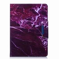 الرخام نمط حامل البطاقة مع حامل الوجه المغناطيسي بو الجلود حالة بطاقة حقيبة مع نمط لسامسونج غالاكسي تبويب t550 t555c 9.7 بوصة اللوحي