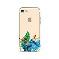 tok Για Apple iPhone X / iPhone 8 Διαφανής / Με σχέδια Πίσω Κάλυμμα Δέντρο Μαλακή TPU για iPhone X / iPhone 8 Plus / iPhone 8