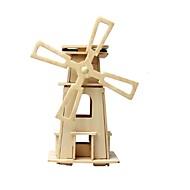 tanie Zabawki & hobby-RUOTAI Zabawki 3D Model Bina Kitleri Model drewna Zabawki Wiatrak Drewniany 1 Sztuk