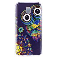 olcso Galaxy J7(2016) tokok-Case Kompatibilitás Samsung Galaxy J7 (2017) J5 (2017) Foszforeszkáló IMD Minta Fekete tok Bagoly Puha TPU mert J7 (2017) J7 (2016) J5