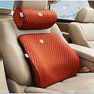 cheap Car Headrests&Waist Cushions-Car Waist Cushions Headrest & Waist Cushion Kits Leather For universal All years General Motors