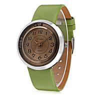 JUBAOLI Žene Modni sat Ručni satovi s mehanizmom za navijanje Kineski Kvarc Koža Grupa Šarm Cool Neformalno Crna Bijela Smeđa Zelena