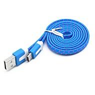 billige Tilbehør til datamaskin og nettbrett-USB 3.1 Adapterkabel, USB 3.1 to USB 3.1 Type C Adapterkabel Hann - hann 2,0m (6.5Ft) 10 Gbps