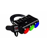 Быстрая зарядка Зарядное устройство и аксессуары Несколько портов 3 USB порта DC 5V/3.1A