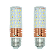 2pcs 16W E27 LED Mais-Birnen T 84 Leds SMD 2835 Warmes Weiß Weiß Dual Light Source Farbe 1300lm 3000-3500  6000-6500  3000-6500K AC